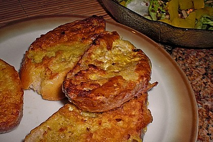 Eier - Knoblauch - Brot 3
