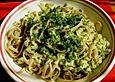 Spaghetti mit Zucchinisauce