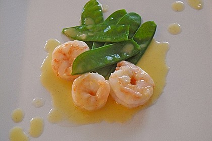 Garnelen in Beurre blanc à la Vanille 3