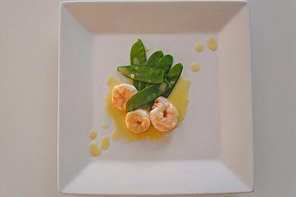 Garnelen in Beurre blanc à la Vanille 1