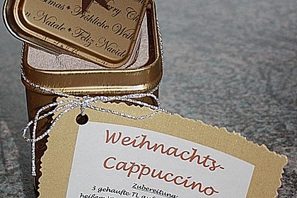 Angys Weihnachts - Cappuccino 3