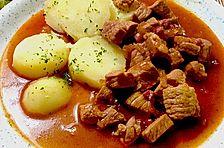 Gulasch mit Malzbier