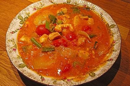 Fischsuppe mit Rouille 1