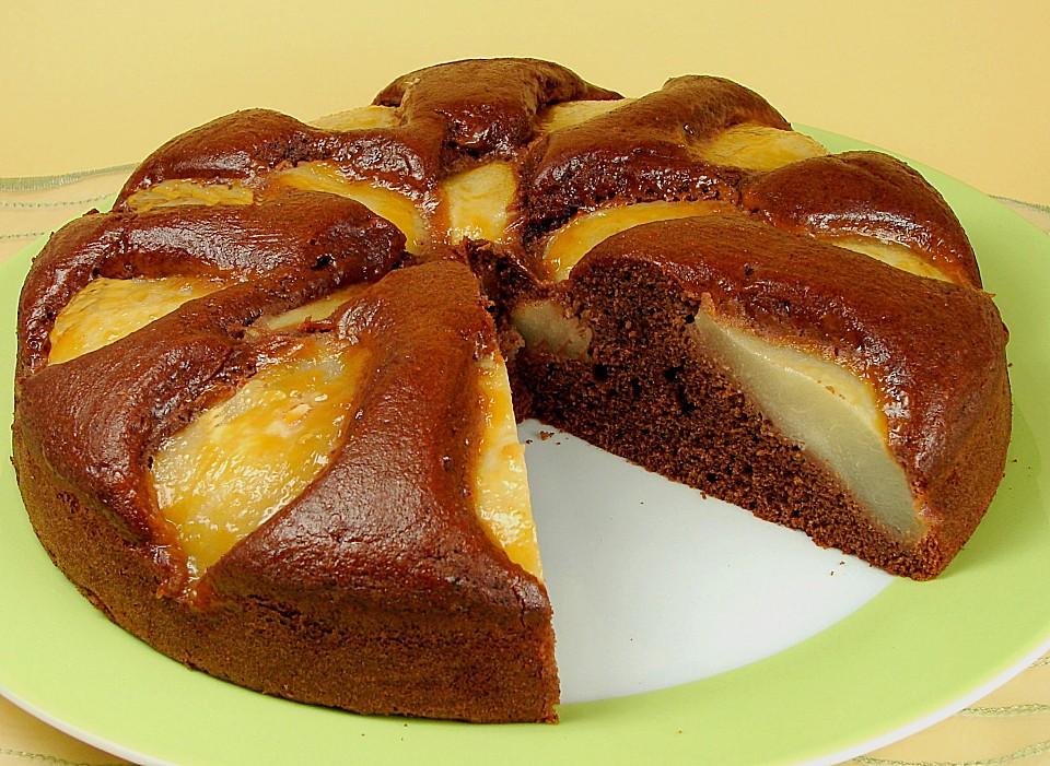 Birne schokolade kuchen Rezepte  Chefkoch.de