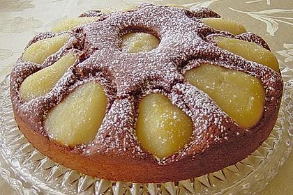 Birnen - Schokolade - Kuchen 14