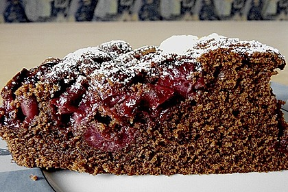 Birnen - Schokolade - Kuchen 68