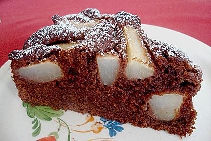 Birnen - Schokolade - Kuchen 39