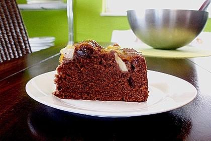 Birnen - Schokolade - Kuchen 38