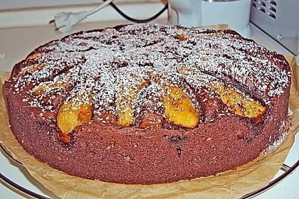 Birnen - Schokolade - Kuchen 75