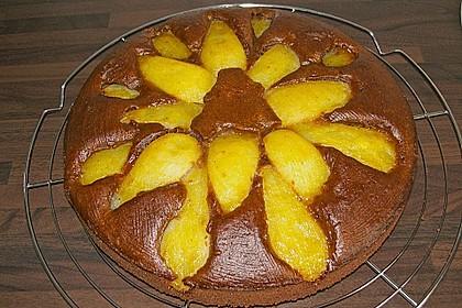 Birnen - Schokolade - Kuchen 82