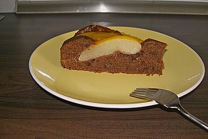 Birnen - Schokolade - Kuchen 40