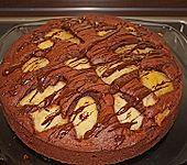 Birnen - Schokolade - Kuchen (Bild)