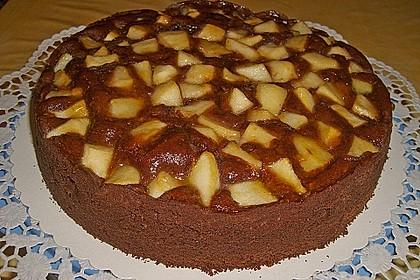 Birnen - Schokolade - Kuchen 32