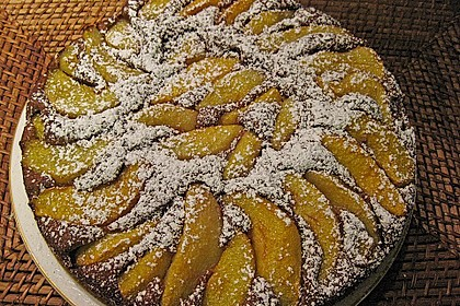Birnen - Schokolade - Kuchen 62