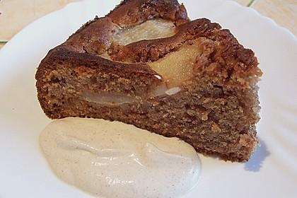 Birnen - Schokolade - Kuchen 71