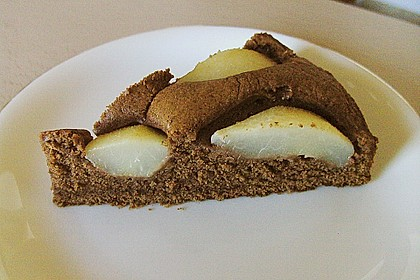 Birnen - Schokolade - Kuchen 70