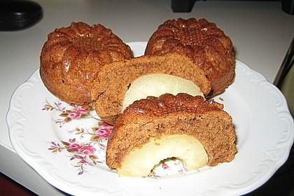 Birnen - Schokolade - Kuchen 80