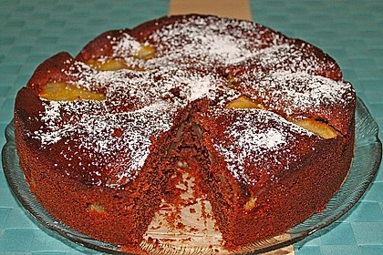 Birnen - Schokolade - Kuchen 48