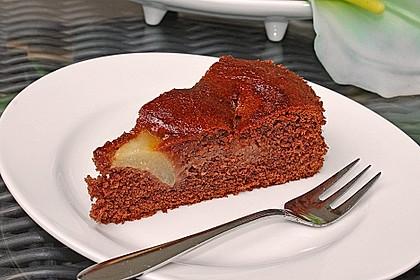 Birnen - Schokolade - Kuchen 11