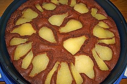 Birnen - Schokolade - Kuchen 66