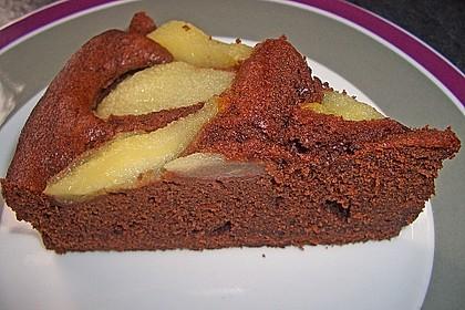 Birnen - Schokolade - Kuchen 45