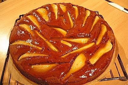 Birnen - Schokolade - Kuchen 56