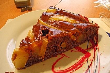 Birnen - Schokolade - Kuchen 64