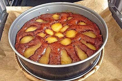 Birnen - Schokolade - Kuchen 50