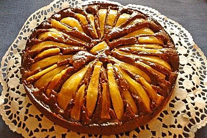 Birnen - Schokolade - Kuchen 33