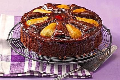 Birnen - Schokolade - Kuchen 2