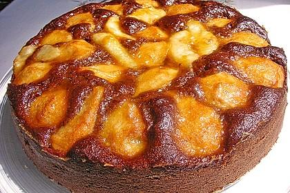 Birnen - Schokolade - Kuchen 57