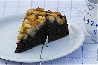 Birnen - Schokolade - Kuchen 21