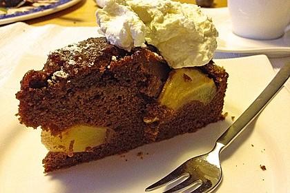 Birnen - Schokolade - Kuchen 102