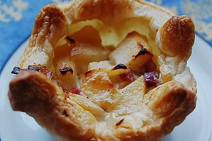 Herzhafte Tartelettes mit Apfel 5