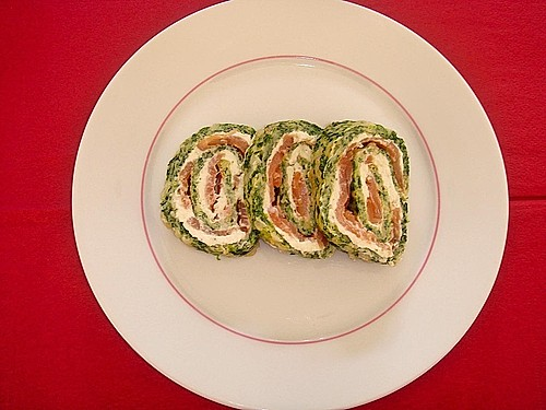 lachs spinat roulade rezept mit bild von tiger timmy. Black Bedroom Furniture Sets. Home Design Ideas