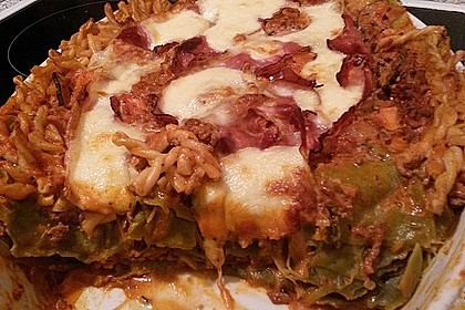 Sauerkraut - Hack - Lasagne
