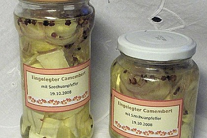 Eingelegter Knoblauch - Camembert 5