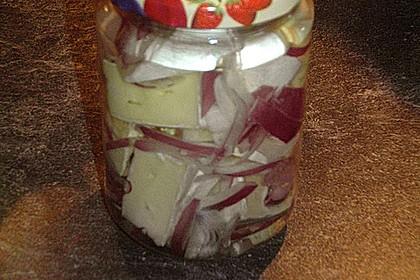 Eingelegter Knoblauch - Camembert 2