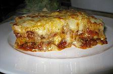 Lasagne alla Bolognese mit Béchamelsoße