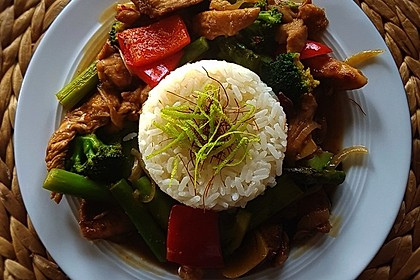 Hähnchenbrust nach Szechuan-Art mit Brokkoli 7