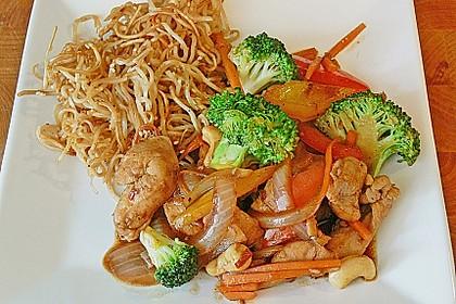 Hähnchenbrust nach Szechuan-Art mit Brokkoli 18
