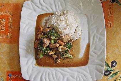 Hähnchenbrust nach Szechuan-Art mit Brokkoli 39