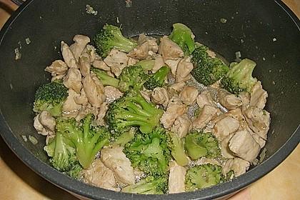 Hähnchenbrust nach Szechuan-Art mit Brokkoli 74