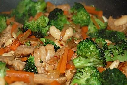 Hähnchenbrust nach Szechuan-Art mit Brokkoli 8
