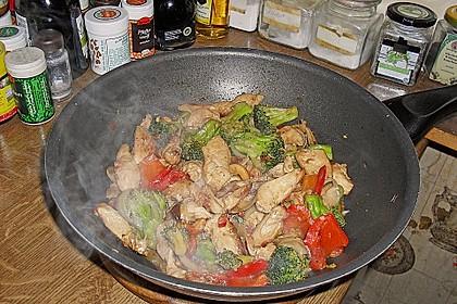 Hähnchenbrust nach Szechuan-Art mit Brokkoli 68