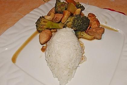 Hähnchenbrust nach Szechuan-Art mit Brokkoli 53