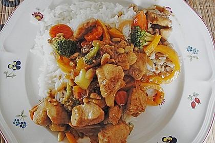 Hähnchenbrust nach Szechuan-Art mit Brokkoli 34