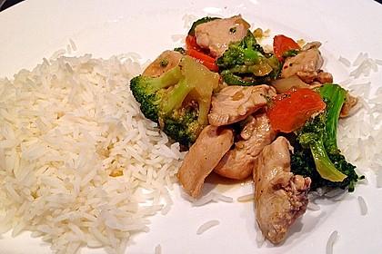 Hähnchenbrust nach Szechuan-Art mit Brokkoli 20