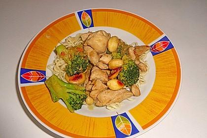 Hähnchenbrust nach Szechuan-Art mit Brokkoli 45