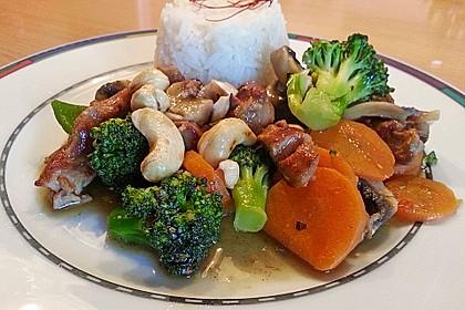 Hähnchenbrust nach Szechuan-Art mit Brokkoli 2